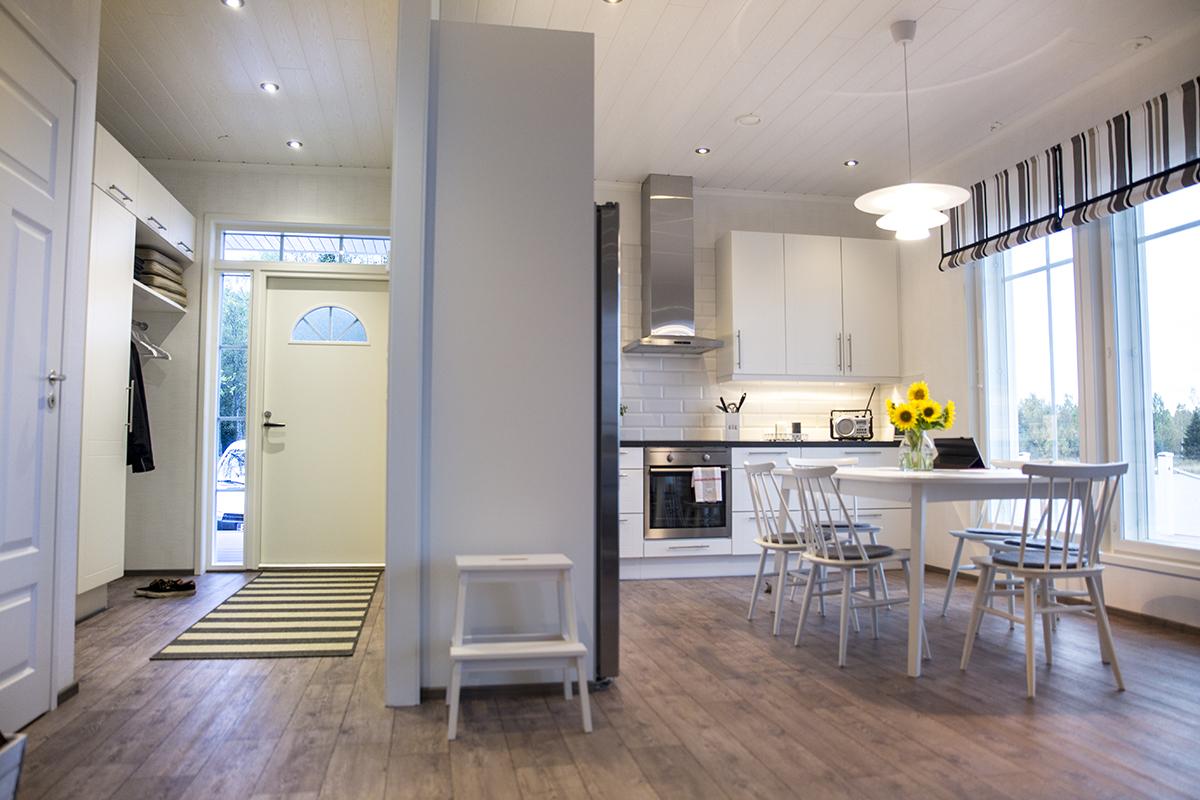 Kök, hall & vardagsrum | Golv1